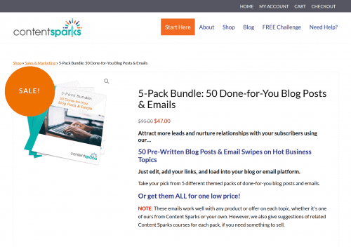 50 Done-for-You Business PLR Emails