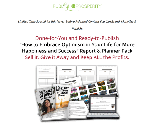 Embracing Optimism PLR Pack with BONUS