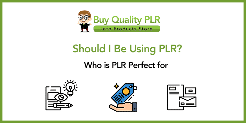 Should I Be Using PLR