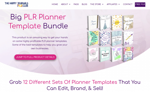 The Big PLR Planner Bundle V2