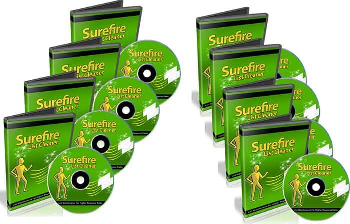 Surefire List Cleaner PLR Videos