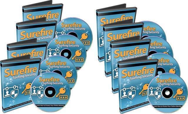 Surefire Surfing Security PLR Videos