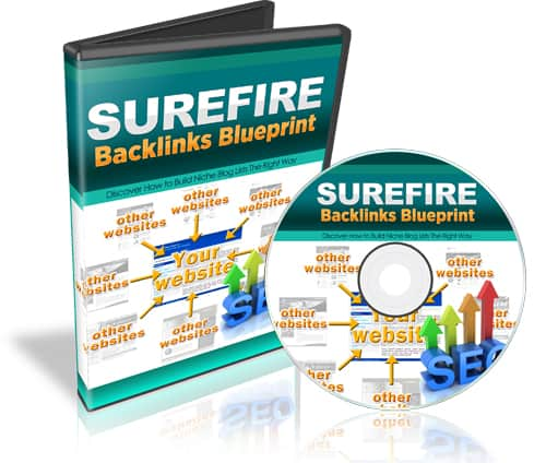 Surefire Backlinks Blueprint Videos with PLR