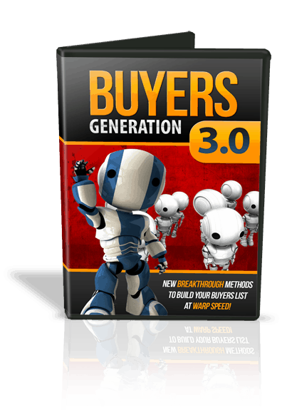 Buyers Generation 3.0 Video Series with MRR Rights from Buy Quality PLR.