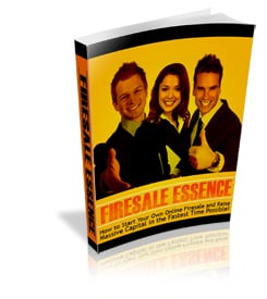 Firesale Essence eBook With PLR