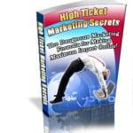 High Ticket Marketing Secrets With PLR