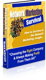 Network Marketing Survival with MMR