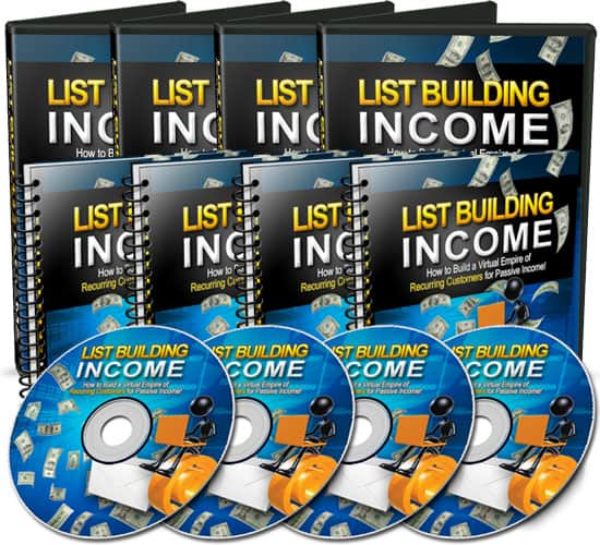 List Building Income with MRR