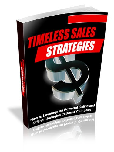 Timeless Sales Strategies with PLR