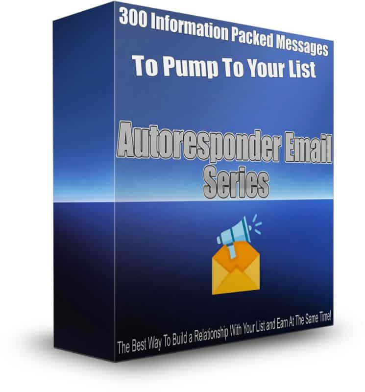 300 Affiliate Marketing Autoresponder Series Emails In A Box PLR