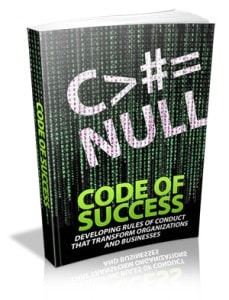 Code Of Success Master resell rights eBook