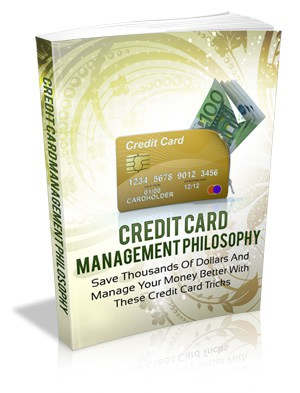 Credit Card Management Master resell rights eBook