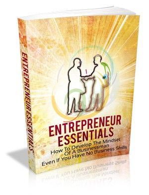 Entrepreneur Essentials eBook With Master resell rights