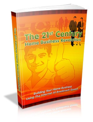 Home Business Revolution Master resell rights eBook