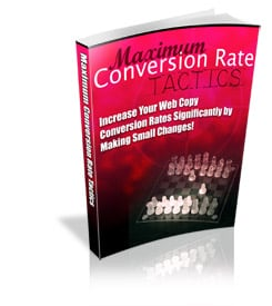 Maximum Conversion Rate Tactics with MRR
