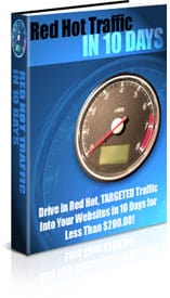 Red Hot Traffic in 10 Days With Master resell rights