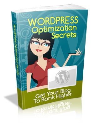 WordPress Optimization Secrets Master resell rights eBook