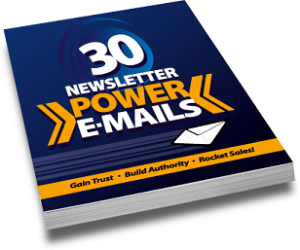 30 Traffic Power E-Mails Master Resell Rights