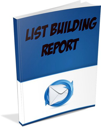 List Building Report Master Resell Rights