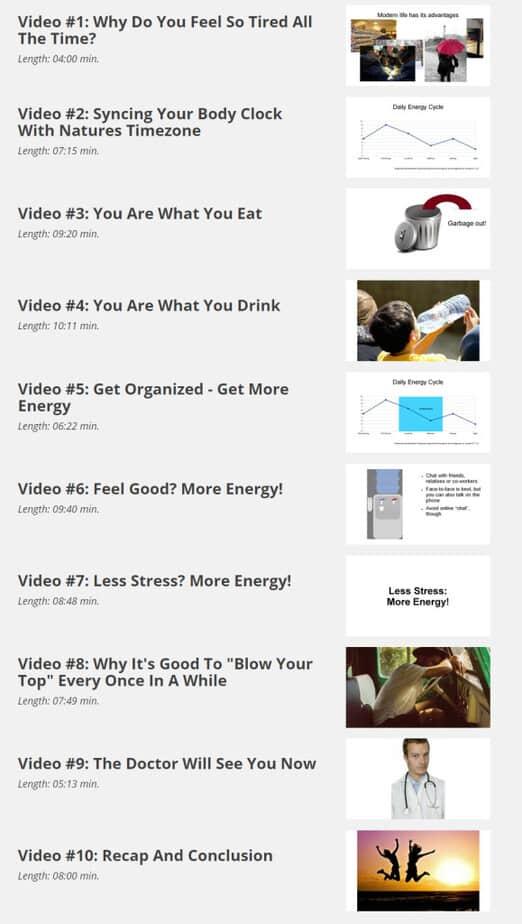 Limitless Energy Videos