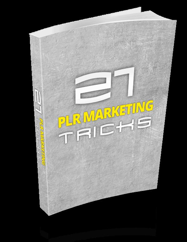 PLR MarketingTricks