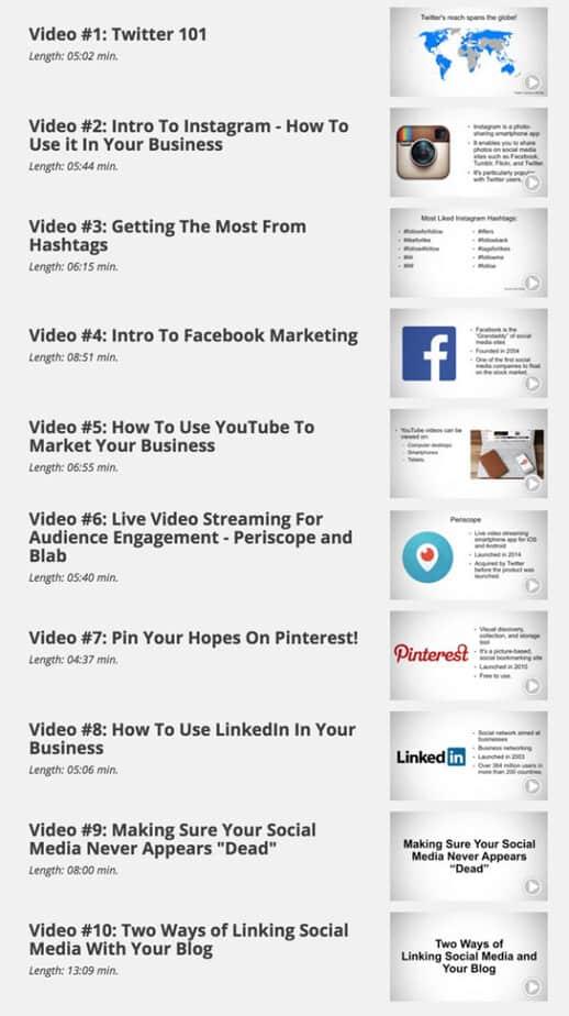 Social Media Domination videos