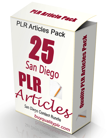 25 San Diego PLR Articles