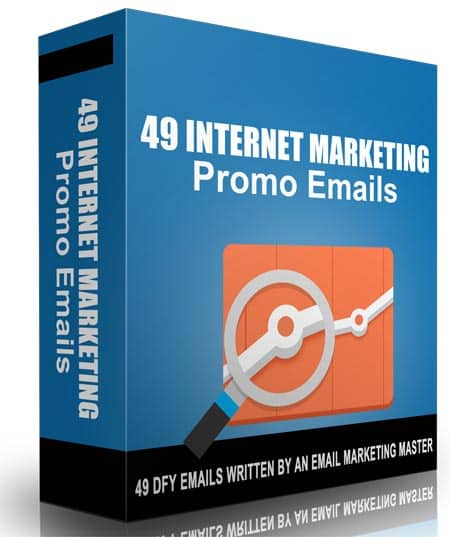 49 Internet Marketing Promo Emails with Master Resale Rights
