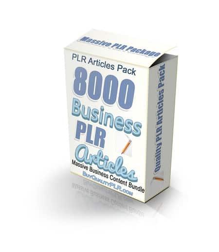 business plr articles pack