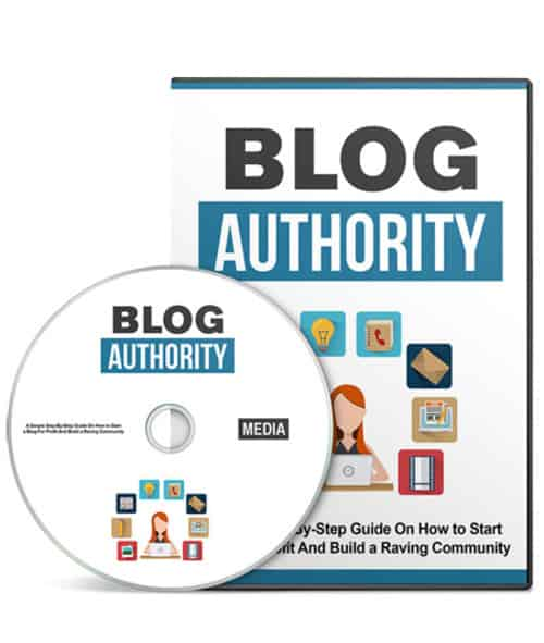 Blog Authority Video Series with Master Resell Rights