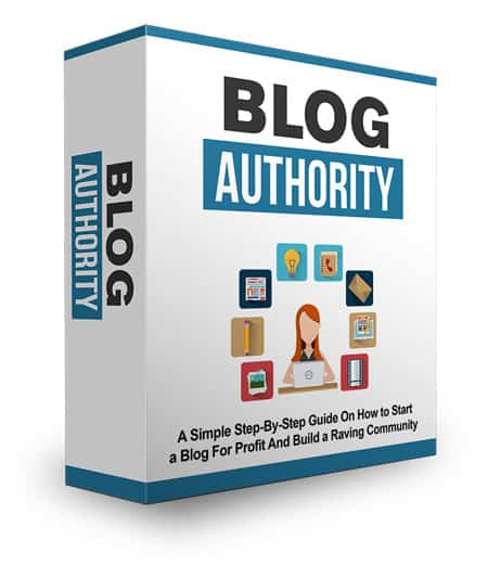 Blog Authority eBook with Master Resell Rights