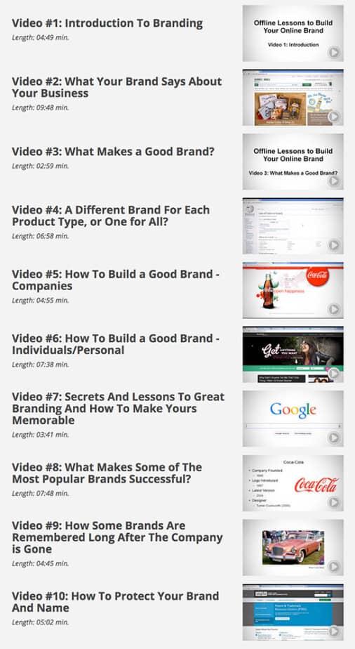 Brand Authority videos