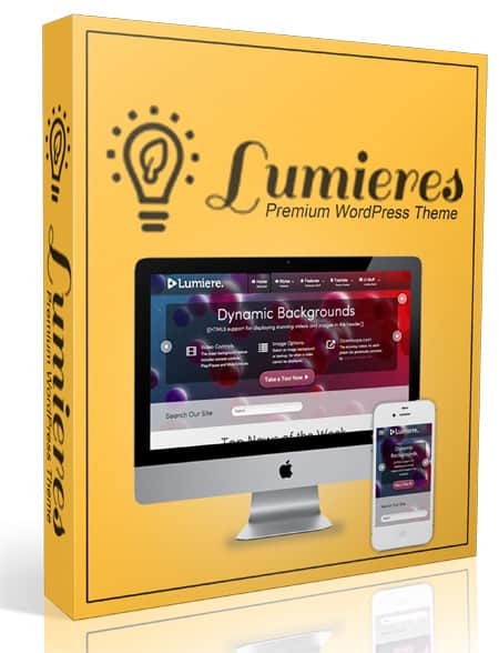 Lumieres WordPress Theme with Master Resell Rights