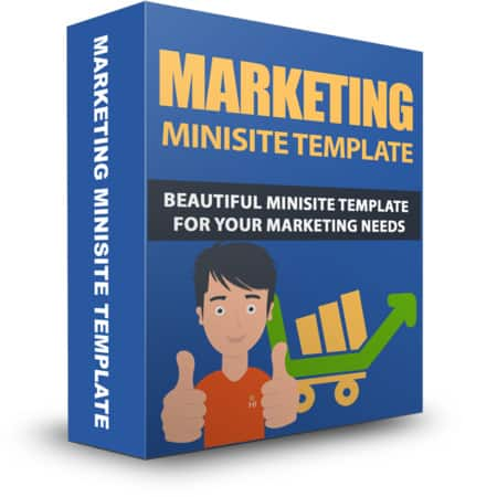 Marketing Minisite PLR Template May 2015
