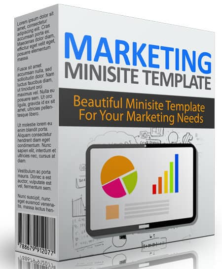 Marketing Minisite PLR Template Noveber 2015