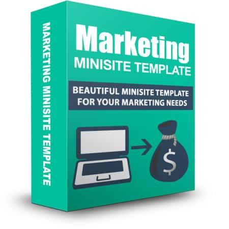 Marketing Minisite Template April 2015