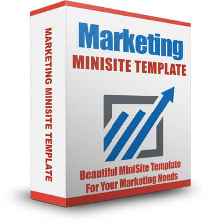 Marketing Minisite Template August 2015
