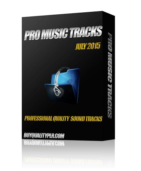 Pro Music Tracks July 2015