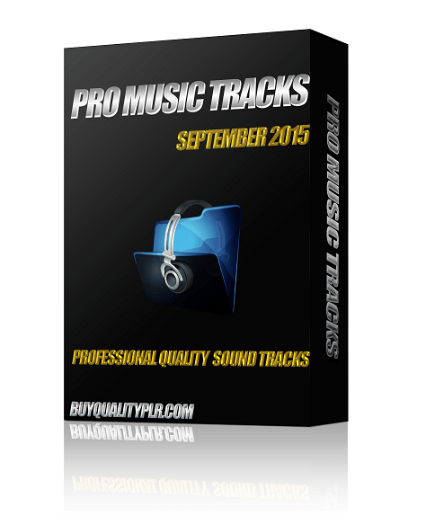 Pro Music Tracks September 2015