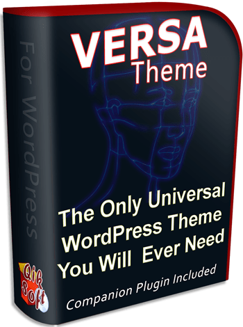 Versa WordPress Theme with Master Resale Rights