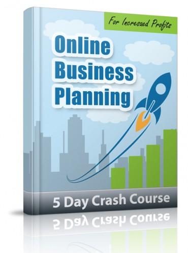 Online Business Planning PLR Email Crash Course