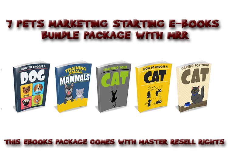 Pets Ebooks Bundle 1 MRR