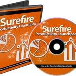Surefire Productivity Launchpad PLR Videos