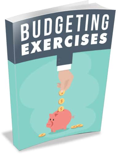Budgeting Exercises Ebook With Master Resell Rights