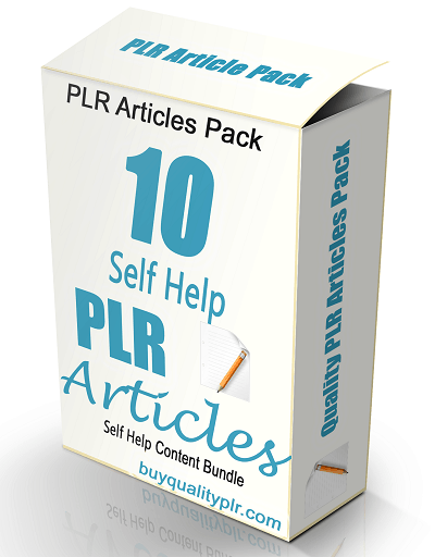 High Quality Self Help Articles PLR