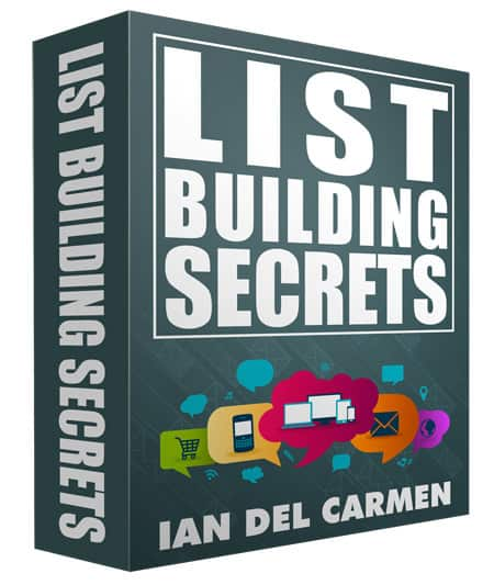 List Building Secrets Ebook with Basic Resell Rights