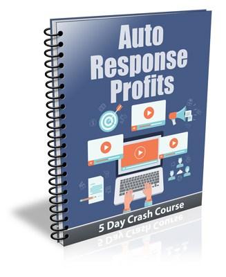 Auto Response Profits PLR Newsletter Email Series