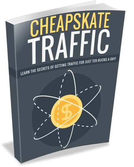 Cheapskate Traffic Ebook With Master Resell Rights