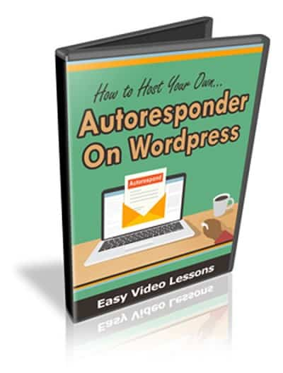 Host Your Own Autoresponder On WordPress MMR Videos Course