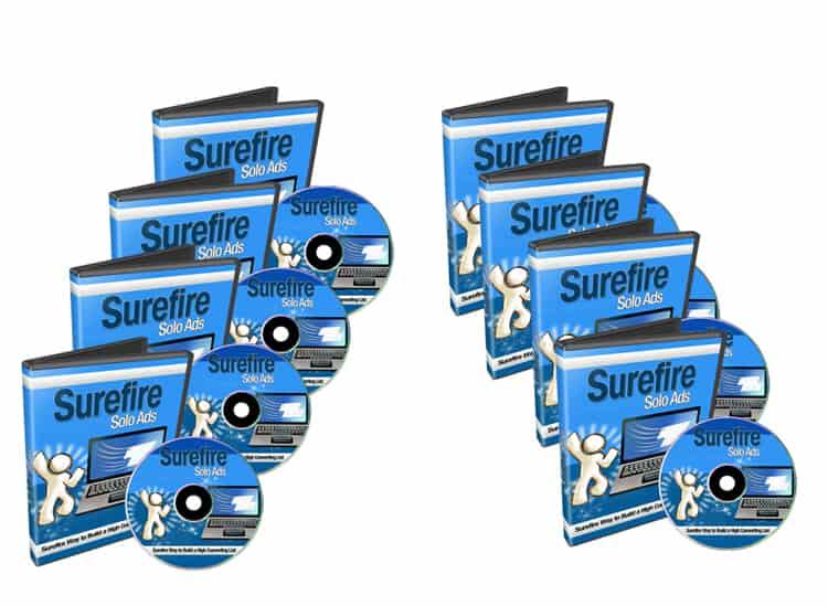 Surefire Solo Ads PLR Videos